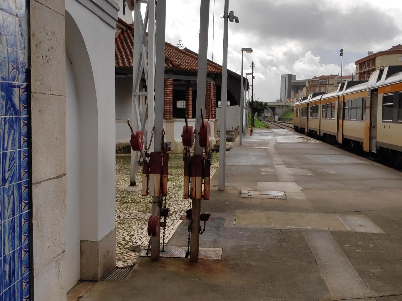 Visita sindical a Caldas da Rainha