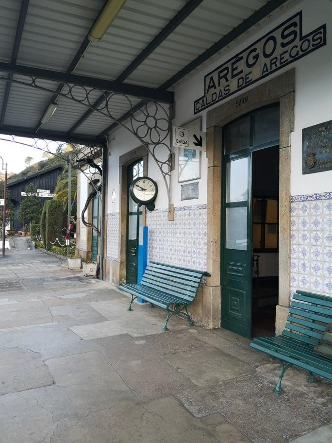 Visita sindical à Linha do Douro