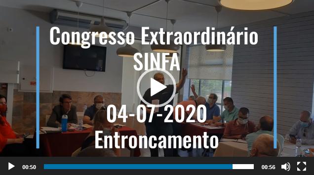 CONGRESSO EXTRAORDINÁRIO SINFA  04-07-2020