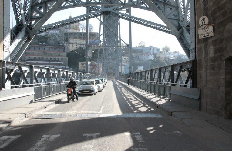 Obras na Ponte Luís I vão custar quase o dobro do previsto