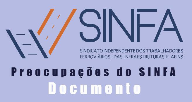 Principais preocupações SINFA-Documento para o MIH