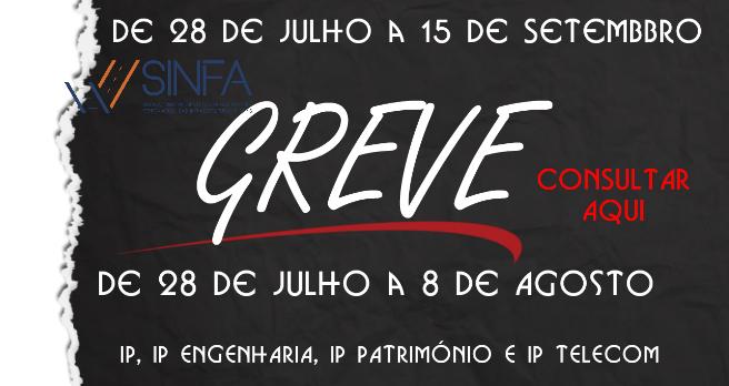 Comunicado Conjunto GREVE: De 28-07 a 15-09 de 2021
